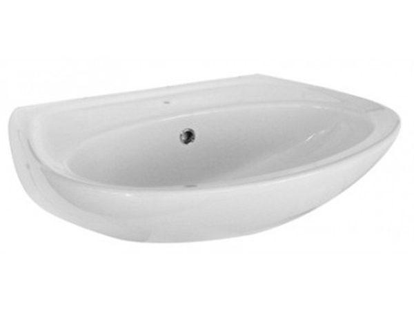 Deluxe Basin Wall Hung White