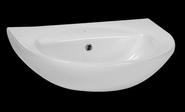 Iqwa Wall Hung Basin White