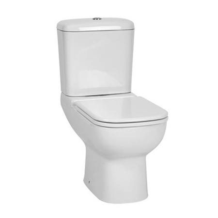 Mirage White Toilet Suite