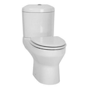 Origami Toilet Suite White